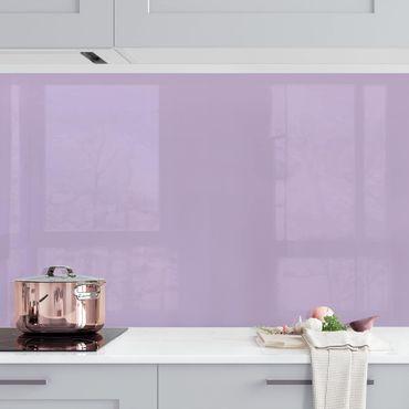 Küchenrückwand - Lavendel