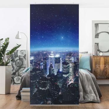 Raumteiler - Illuminated New York 250x120cm