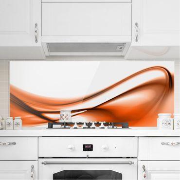 Spritzschutz Glas - Orange Touch - Panorama - 5:2