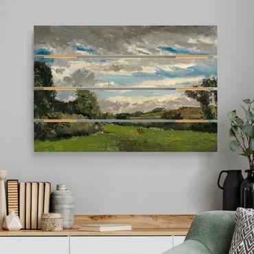 Holzbild - Vincent van Gogh - In den Dünen - Querformat 2:3
