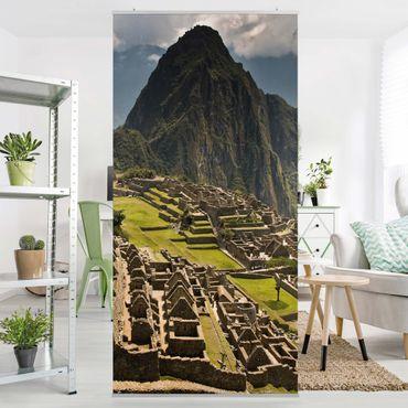Raumteiler - Machu Picchu 250x120cm