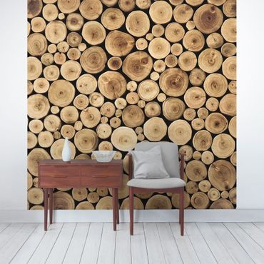 Fototapete Homey Firewood