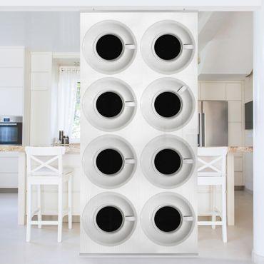 Raumteiler - Kaffeehaus 250x120cm