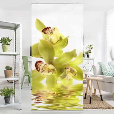 Raumteiler - Splendid Orchid Waters 250x120cm