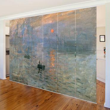 Schiebegardinen Set - Claude Monet - Impression (Sonnenaufgang) - Flächenvorhänge