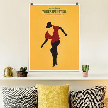 Poster - Filmposter Der gezähmte Widerspenstige - Hochformat 4:3