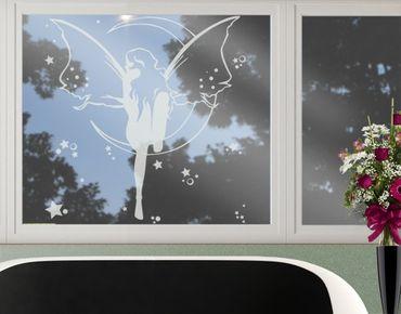 Fensterfolie - Fenstertattoo No.CA20 Feenkönigin - Milchglasfolie