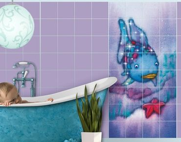 Fliesenbild - Der Regenbogenfisch - Der Seestern