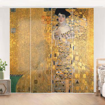 Schiebegardinen Set - Gustav Klimt - Bildnis der Adele Bloch-Bauer I - Flächenvorhänge