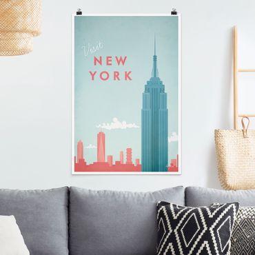 Poster - Reiseposter - New York - Hochformat 3:2