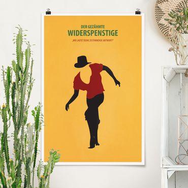 Poster - Filmposter Der gezähmte Widerspenstige - Hochformat 3:2