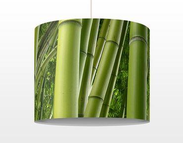 Hängelampe - Bamboo Trees
