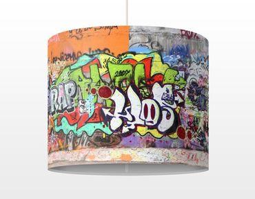 Hängelampe - Graffiti
