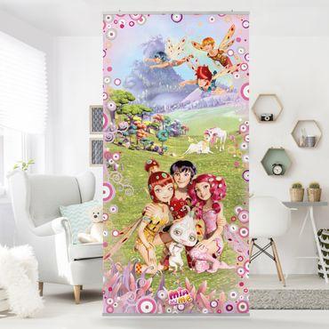 Raumteiler Kinderzimmer - Mia and Me - Mia´s magische Welt 250x120cm
