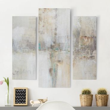 Leinwandbild 3-teilig - Essenz I - Galerie Triptychon