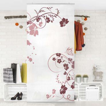 Raumteiler - Apricot Blossom 250x120cm