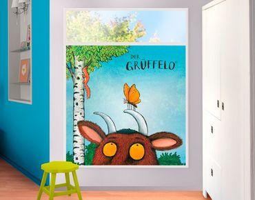 Fensterfolie - Sichtschutz Fenster Grüffelo - Mutiger Schmetterling - Fensterbilder