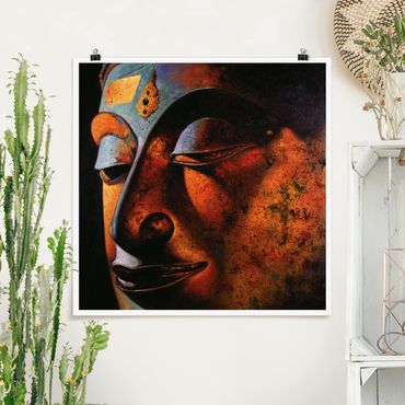 Poster - Bombay Buddha - Quadrat 1:1