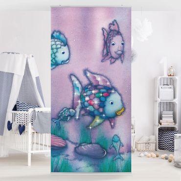 Raumteiler Kinderzimmer - Der Regenbogenfisch - Unterwasserparadies 250x120cm