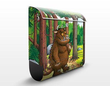 Design Briefkasten Grüffelo - Waldspaziergang 39x46x13cm