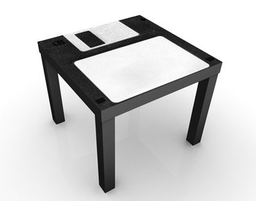 Beistelltisch - Floppy Disk Label
