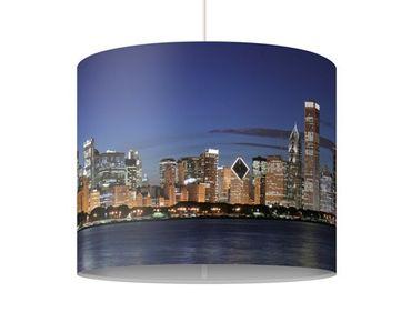 Hängelampe - Chicago Skyline