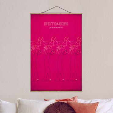 Stoffbild mit Posterleisten - Filmposter Dirty Dancing II - Hochformat 3:2