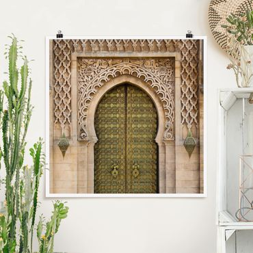 Poster - Oriental Gate - Quadrat 1:1