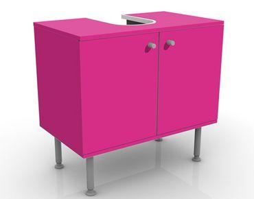Waschbeckenunterschrank - Colour Pink - Badschrank Rosa