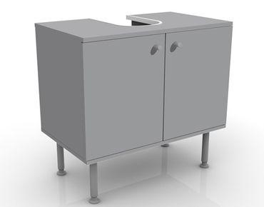 Waschbeckenunterschrank - Colour Cool Grey - Badschrank Grau
