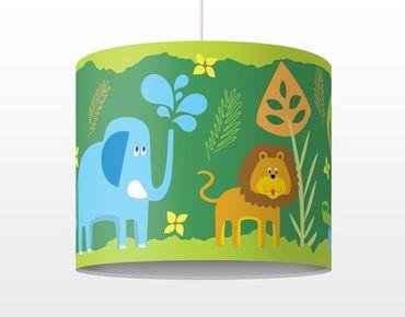 Hängelampe - Zootiere