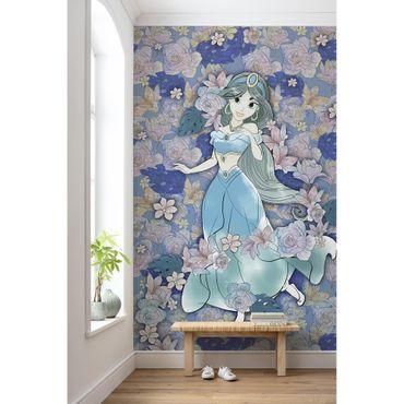 Disney Kindertapete - Jasmin Colored Flowers - Komar Fototapete