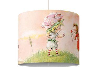 Hängelampe - Erdbeerinchen Erdbeerfee - Rosa Rose