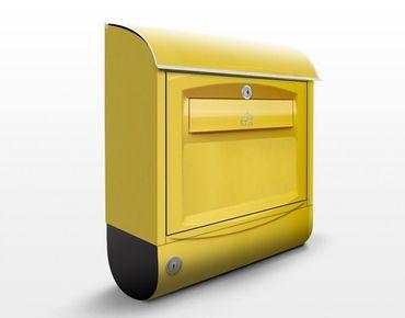 Schweizer Briefkasten - Briefkasten in der Schweiz - mit Zeitungsfach