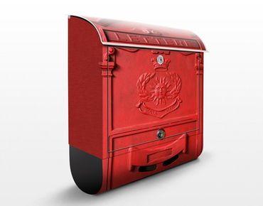 Briefkasten Nostalgie - Briefkasten in Italien - Briefkasten mit Zeitungsrolle