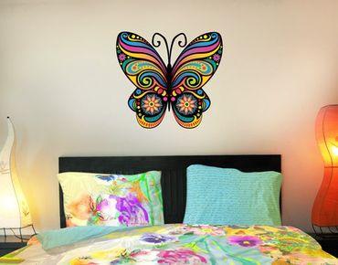 Wandtattoo Schmetterling No.BP22 Mandala Schmetterling