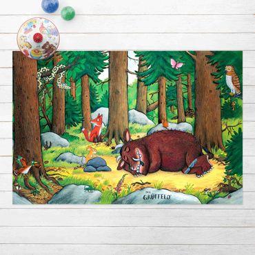 Vinyl-Teppich - Grüffelo - Nickerchen im Wald - Querformat 3:2