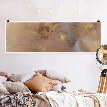 Poster - Himmelsträumerei I - Panorama Querformat