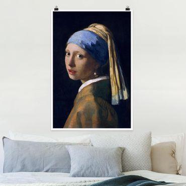 Poster - Jan Vermeer van Delft - Das Mädchen mit dem Perlenohrgehänge - Hochformat 3:2