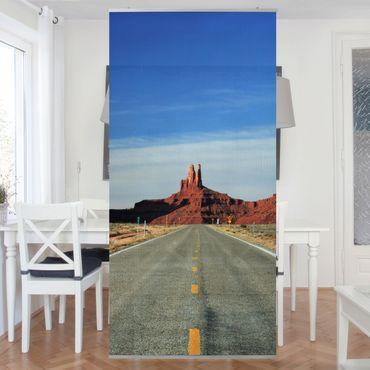 Raumteiler - Colorado-Plateau 250x120cm