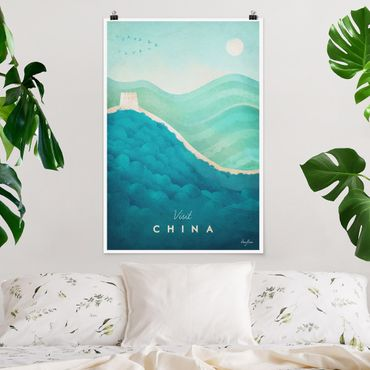 Poster - Reiseposter - China - Hochformat 3:2