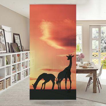 Raumteiler - African Life 250x120cm
