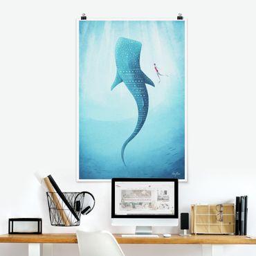 Poster - Der Walhai - Hochformat 3:2