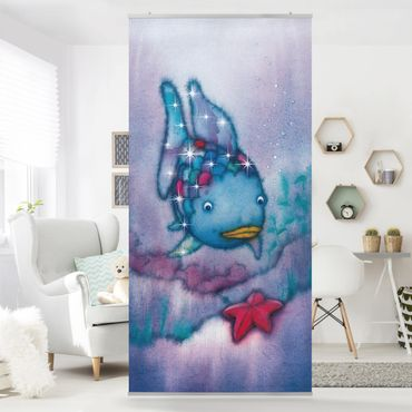 Raumteiler - Der Regenbogenfisch - Der Seestern 250x120cm