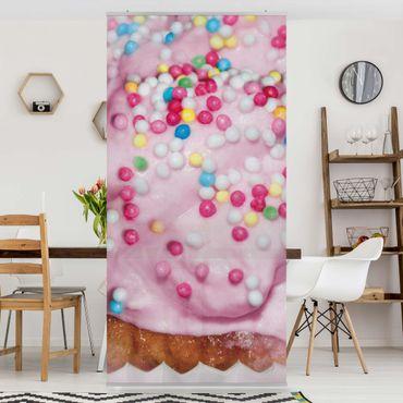 Raumteiler - No.YK10 Cupcake 250x120cm