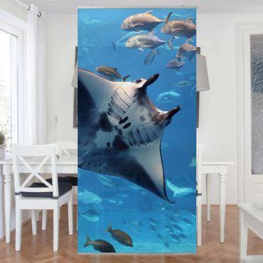 Raumteiler - Manta Ray 250x120cm