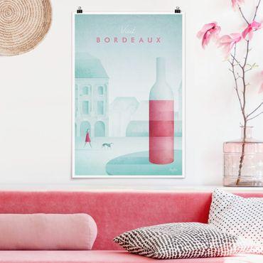 Poster - Reiseposter - Bordeaux - Hochformat 3:2