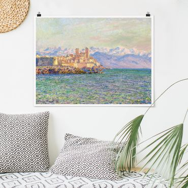 Poster - Claude Monet - Antibes-Le Fort - Querformat 3:4