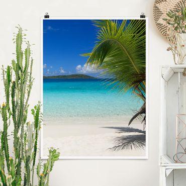 Poster - Perfect Maledives - Hochformat 3:4