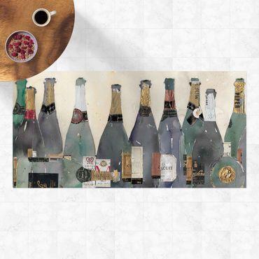 Vinyl-Teppich - Entkorkt - Champagner - Querformat 2:1